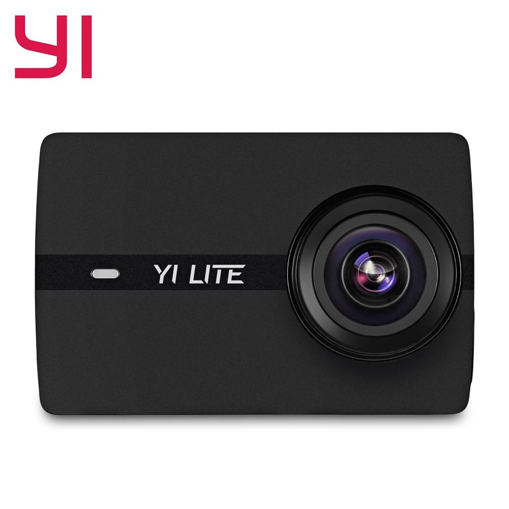YI YAS.1117 4 K ultra HD Sports Action caméras 16MP 1440 P 150 degrés grand Angle Cam 2.0 ''LCD écran WiFi Bluetooth App Cantrol