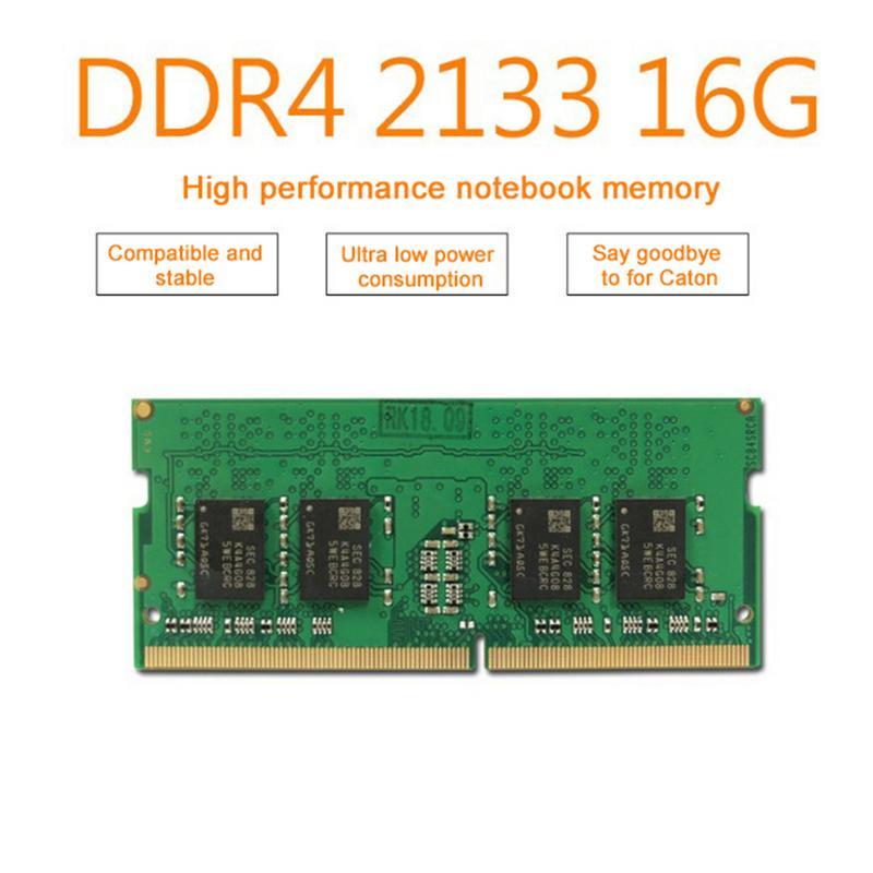 Memoria RAM Entièrement Compatible accessoire d'ordinateur DDR4 2133 4G/8G/16G PC4-17000 pour Ordinateur Portable
