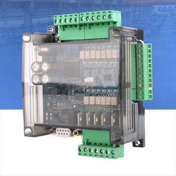 PLC промышленная плата управления бесщеточный контроллер двигателя FX3U-14MT аналоговый 6AD + 2DA 24V 1A мягкий Пуск