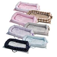 Infant Crib Bed Baby Soft Bed In Bed Baby Cot Portable Crib Washable Travel Folding Crib Baby Care Crib