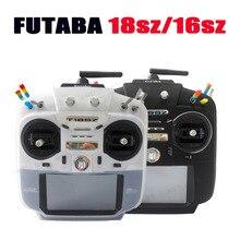 جهاز تحكم عن بعد من Futaba 18SZ 16SZ جهاز إرسال عن بعد مزود بجهاز تحكم عن بعد غلاف حماية من السيليكون جهاز استقبال راديو Sfhss FPV جهاز سباق السيارات