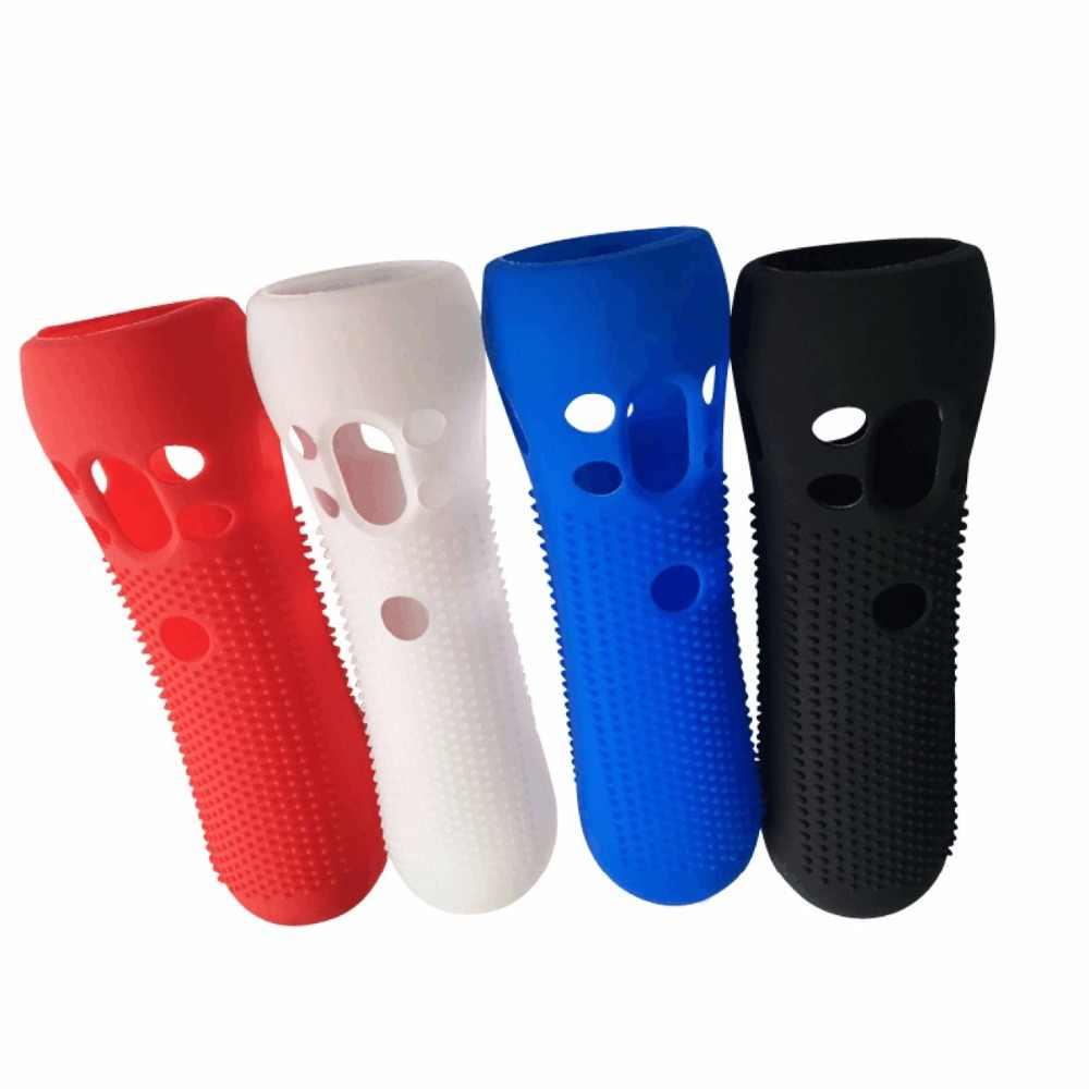 1 шт. шипованных силиконовые противоскользящие мягкие охранников чехол Защитный чехол кожи для sony PS VR Move Motion PSVR охранный контроллер