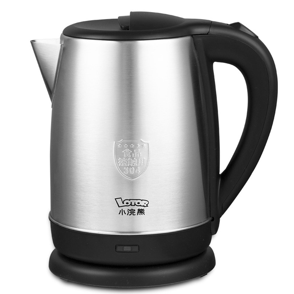 Stainless Steel 1.8 Litre 1500W Cordless Fast Boil Electric Kettle Jug Automatic Power Off For Home DormitoryStainless Steel 1.8 Litre 1500W Cordless Fast Boil Electric Kettle Jug Automatic Power Off For Home Dormitory