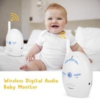 2.4GHz Wireless Digital Audio Baby Monitor Nanny Intercom Camera Electronic Alarm