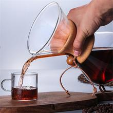 400ml/600ml/800ml Heat Resistant Glass Coffee Pot Coffees Storage Cups Counted Maker Barista Tools Percolator Wholesale