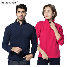 THE ARCTIC LIGHT Men Women Winter Fleece Thermal Jackets Outdoor Sports Windproof Hiking Trekking Skiing Fishing Coat