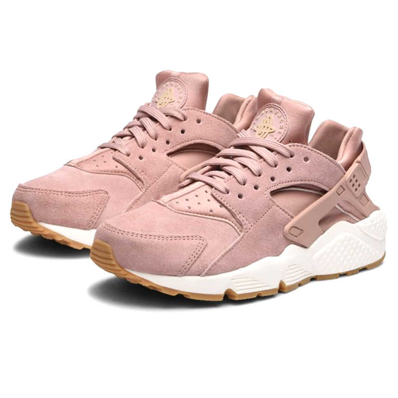 finest selection d350c ed25f Nike AIR HUARACHE RUN Premium Women's Running Shoes Comfortable Breathable  Outdoor Sneakers #AA0524-600