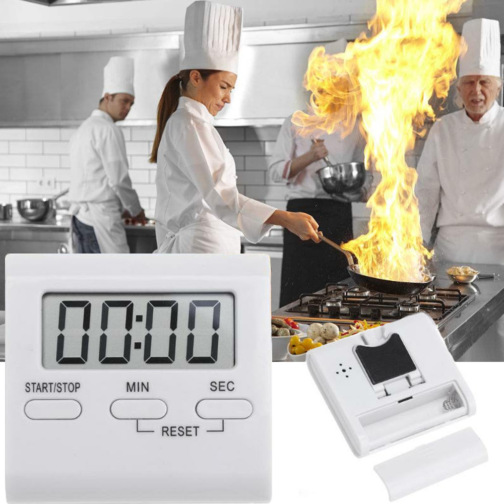 Фотографические часы, громкие фотографические часы, фотографические часы, кухонная духовка, таймер для приготовления пищи, 99 минут