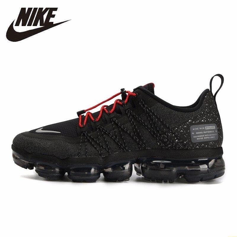 Nike Homens Sapatos de Corrida New Chegada Vapormax Palmeiras Completa Almofada de Ar de Ventilação Confortável Sapatilhas # AQ8810-001 Bradyseism