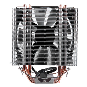 Image 3 - ثلج 4 دبوس وحدة المعالجة المركزية برودة 6 heatpipe واحد/مزدوج مروحة التبريد 12 سنتيمتر مروحة LGA775 1151 115x1366 دعم إنتل AMD