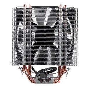 Image 3 - SNOWMAN 4 PIN CPU cooler 6 heatpipe Single/Double fan cooling 12 cm fan LGA775 1151 115x 1366 support Intel AMD