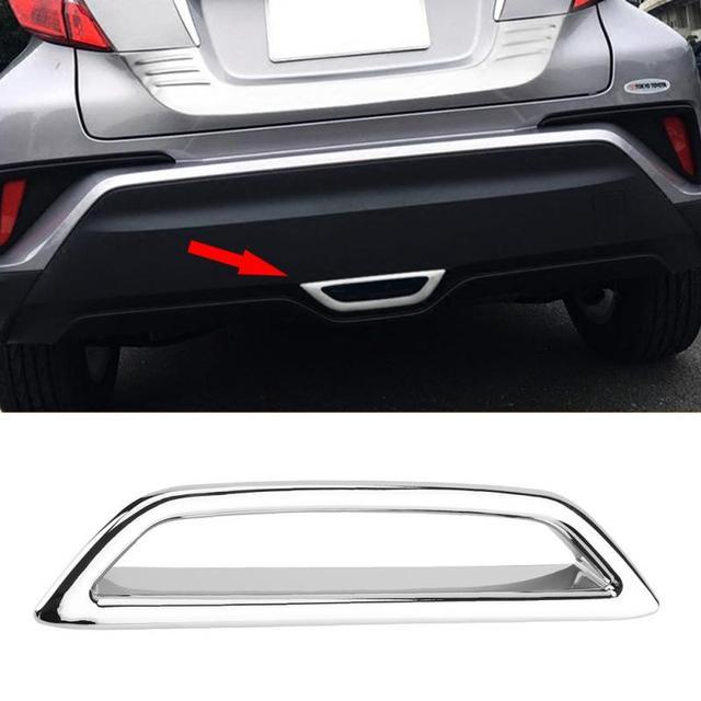 Trasero del coche de la luz de freno de cola cubierta de la lámpara de ajuste para Toyota C-HR CHR 2018 coche-estilo de accesorios de coche nuevo