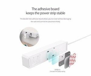 Image 2 - Orico usb tomada de tira de energia com 2 usb 2.4a carregamento rápido padrão extensão tomada tira de energia adaptador eletrônica casa