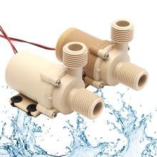 Qualité alimentaire de pompe à eau de Circulation deau de moteur sans brosse de leau chaude solaire de cc 12V/24V 5M