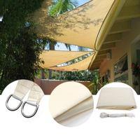 3.5*3.5*3.5m square anti ultraviolet waterproof sun shading gardening net Courtyard sun screen balcony shade Outdoor Shade Sail