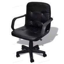 Oficina Compra Lotes Moderna De Baratos Silla Cuero 5A3Rj4L