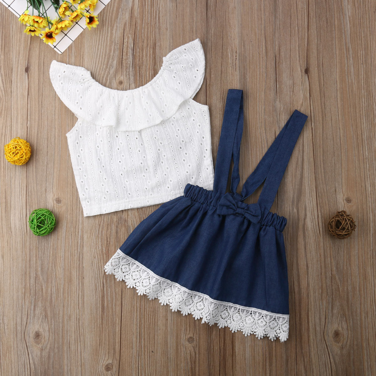 2-3 years Trendy Baby Girl Summer Beach Outfit Toddler Birthday Peach Christmas or Baby Gift DJ Baby Dress Babys A-Line Dresses - BABY MOOS UK