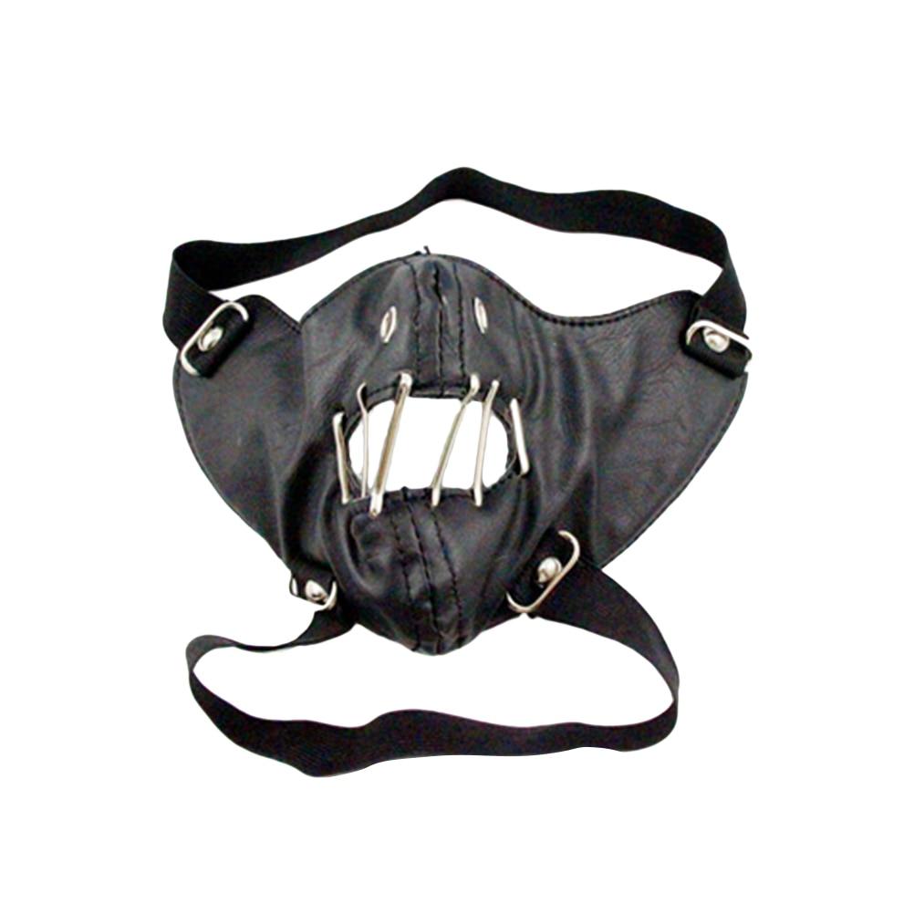 1 Pc Maske Einfache Coole Mode Mund Maske Persönlichkeit Masken Für Rock Bühne Performance Reiten Männer