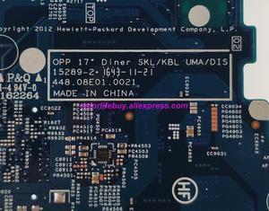 Image 4 - ของแท้ 859036 601 859036 001 448.08E01.0021 w i3 7100U CPU เมนบอร์ดแล็ปท็อปสำหรับ HP โน้ตบุ๊ค 17 X Series 17T X100 17T X1XX PC