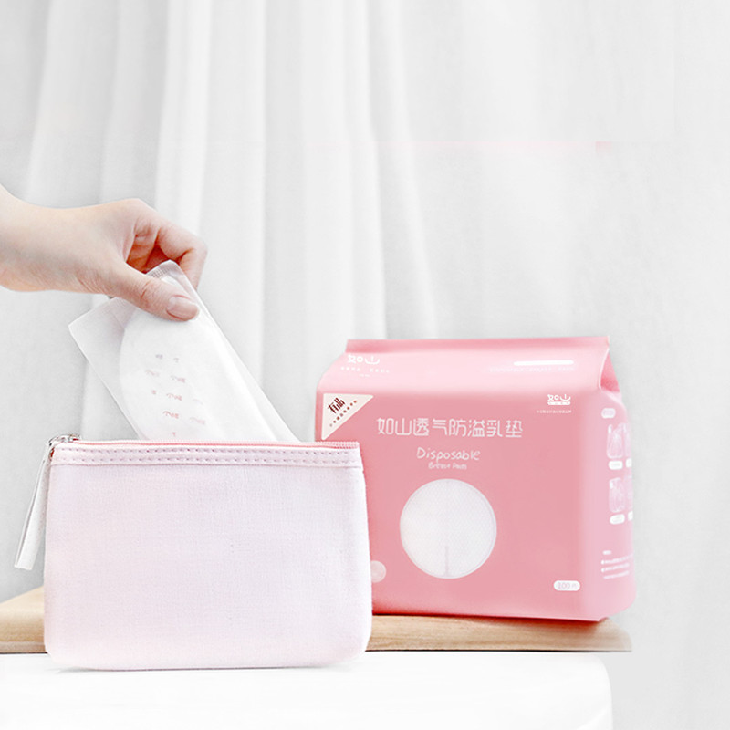 Almofadas de Higiene Pro 100 Pcs Respirável Anti-pad