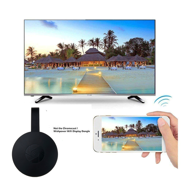 US $7 49 25% OFF|Kebidumei G2 Wireless Display Dongle 1080P HDMI TV Stick  Receiver Miracast For Google Chromecast For iOS iPhone iPad/Mac/Android-in