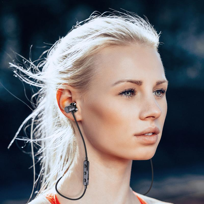 Image 5 - Portable Earphones Wireless Bluetooth Earphone Mini Metal Earbud Stereo Hd Sound Music Sport Waterproof Outing Devices With Mic-in Phone Earphones & Headphones from Consumer Electronics