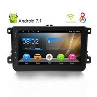 8 Inch Smart Android 7.1 2 Din Car Universal MP5 MP4 Player HD IOS Android Mirror Link Dash Cam Bluetooth 4.0 Hands free Calls