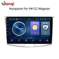 10.1 inch Android 8.1 car gps navigation for Volkswagen magotan CC passat 7 B7 2012 2018 multimedia radio system