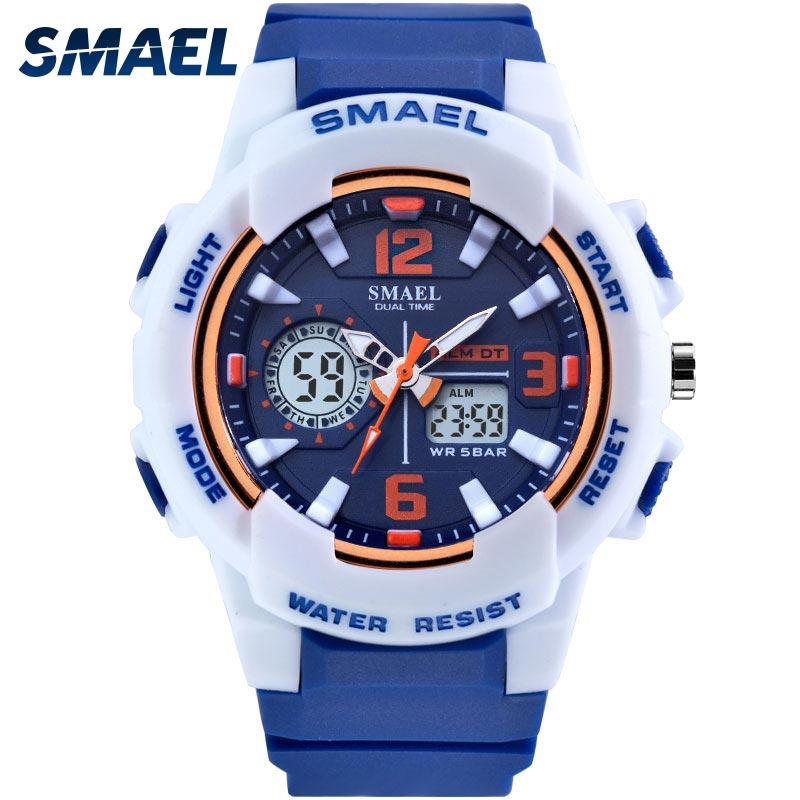 Children Watches For Boys Girl SMAEL Kid Watch Waterproof Sport Alarm Clock 1643 Christmas Presents Watch For Kids Digital Watch