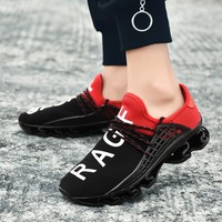 2019 New Arrival Men Running Shoes Four Season Breathable Hard Wearing Lace Up Fashion Couple Footwear Good Quality Sneakers Men