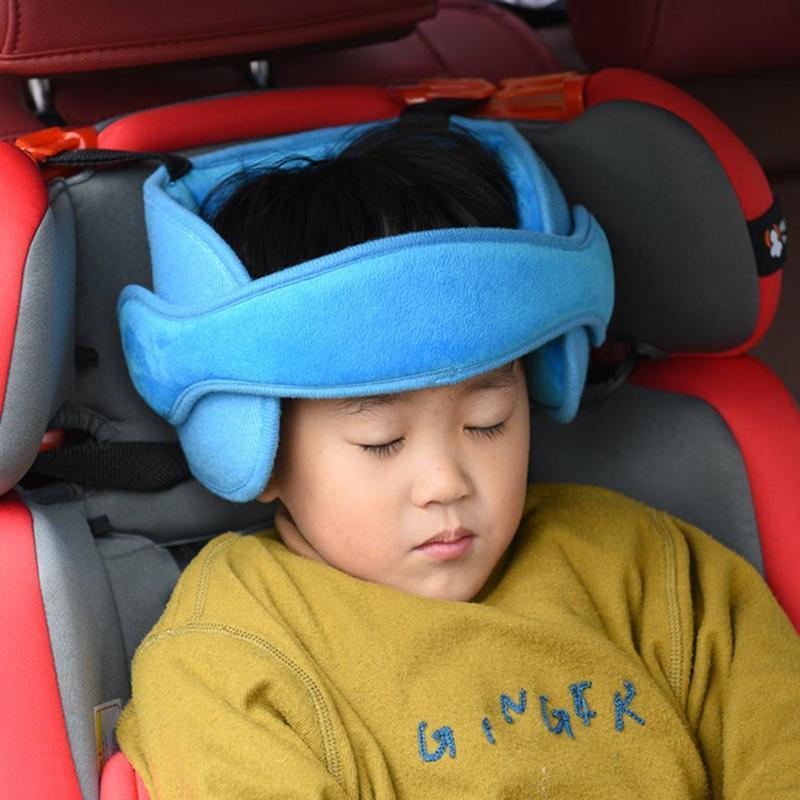 Safety Stroller Car Seat Sleep Nap Aid Head Fasten Support Baby Kids Holder Belt