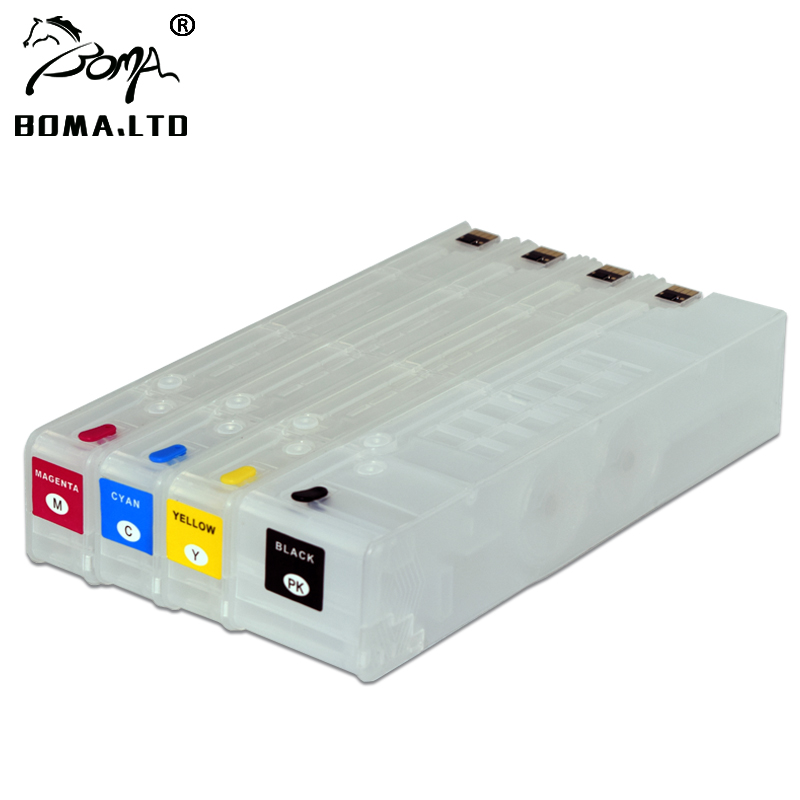 цена BOMA.LTD For HP 970 971 Ink Cartridge With ARC Chip For HP Pro X451dn/X451dw/X476dn/X476dw/X551dw/X576dw Printer
