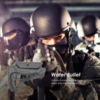 1pcs Outdoor Tactical Game Water Bullet Buttstock For Airsoft BB Ball Butt Pad Recoil Hunting Accessories
