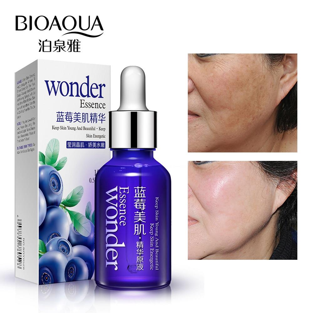 BIOAQUA Blueberry Hyaluronic Serum Acid Liquid Skin Care Anti Wrinkle Collagen Essence Face Care Whitening Moisturizing Oil