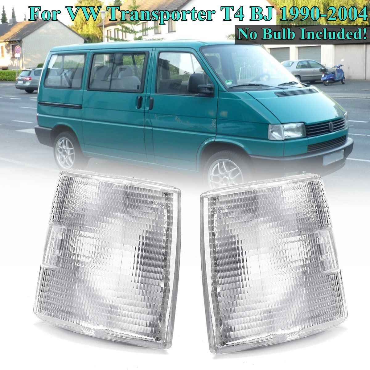 hight resolution of 1 pair front corner lights indicator signal lamps for vw transporter t4 1990 1991 1992 1993