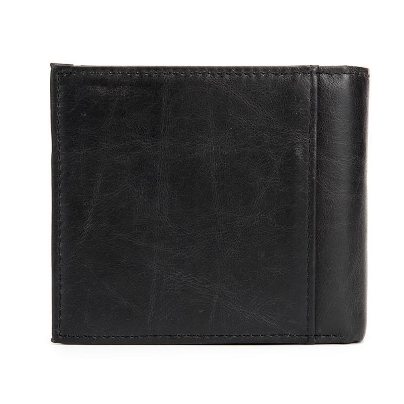 BULLCAPTAIN porte-monnaie en cuir véritable mâle petit changement Mini fermeture à glissière sac d'argent carte porte-clés petit hommes Mini portefeuille 2019 nouveau