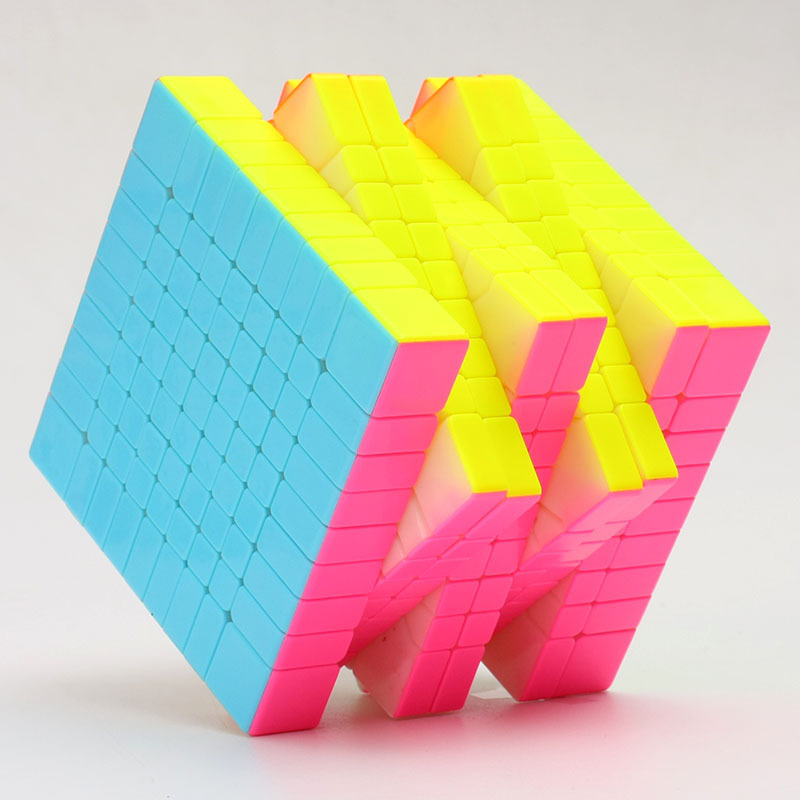 Yuxin Huanglong 9x9x9 Magico Cubo 9x9 néo Fidget Cube magique Puzzle Cube professionnel 9x9 Cubes sans autocollants jouets pour enfants