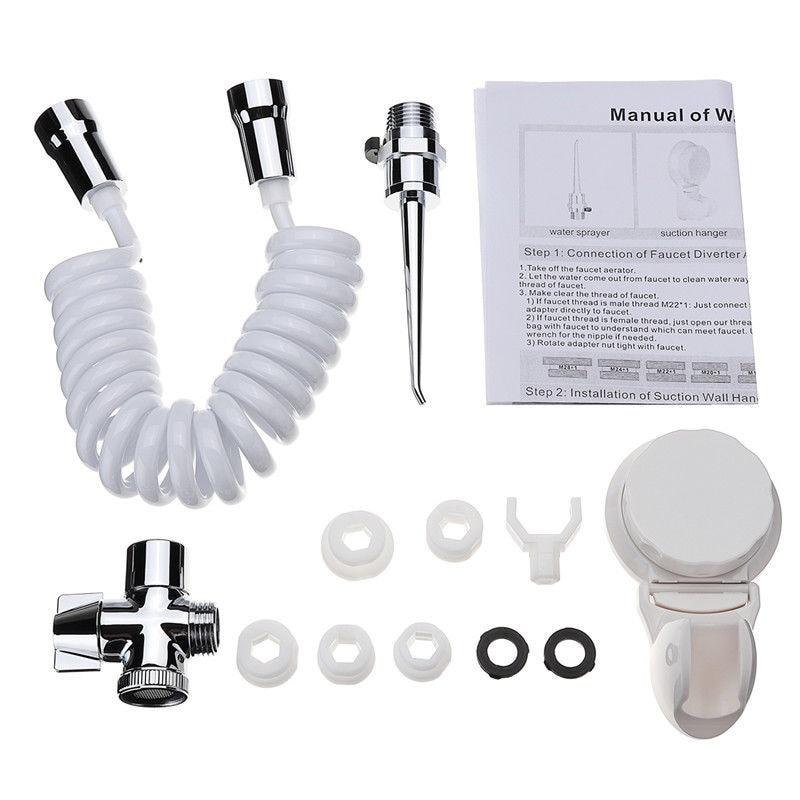 Hot TOD-12 Pcs Dental Spa Water Jet Flosser Oral Irrigator Teeth Toothbrush Pick Cleaner