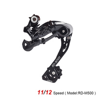 S Ride RD M500 Mountian Bike 11/12 Speed Long Cage Rear Derailleur Compatible With SHIMANO Cycling MTB Bicycle Gear Parts 260g