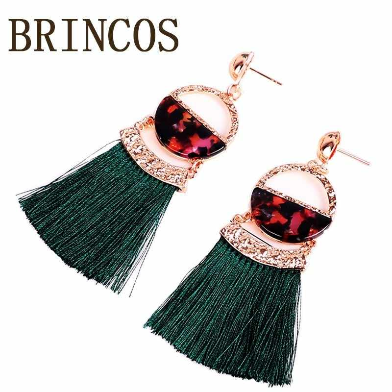 Earrings boho 2019 Jewelry Bohemian BTS India Retro Golden Ali Express Hanging Women Geometry Oversized Ethnic Shaking  handmade