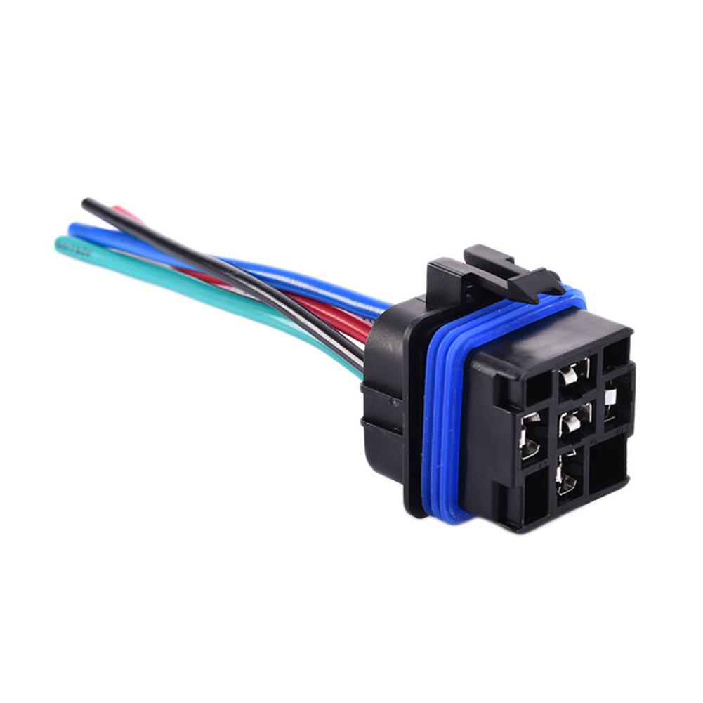 4  5pins 12v 40a Waterproof Integrated Automobile Auto Car