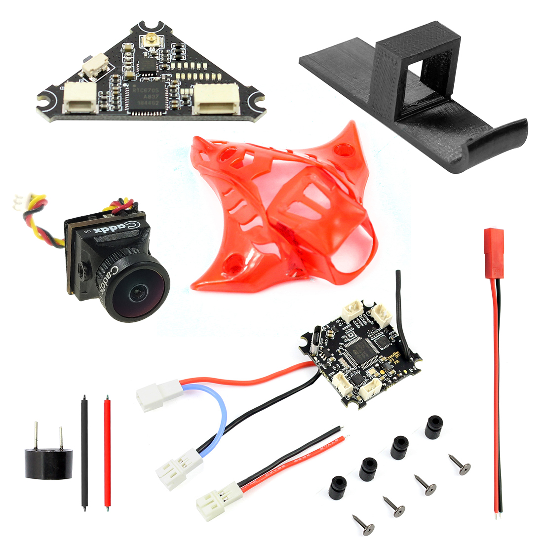 Welding Combo for Mobula7 Frsky Upgrade Crazybee F3 Pro Flight Controller 1200TVL FPV Camera Switchable VTX