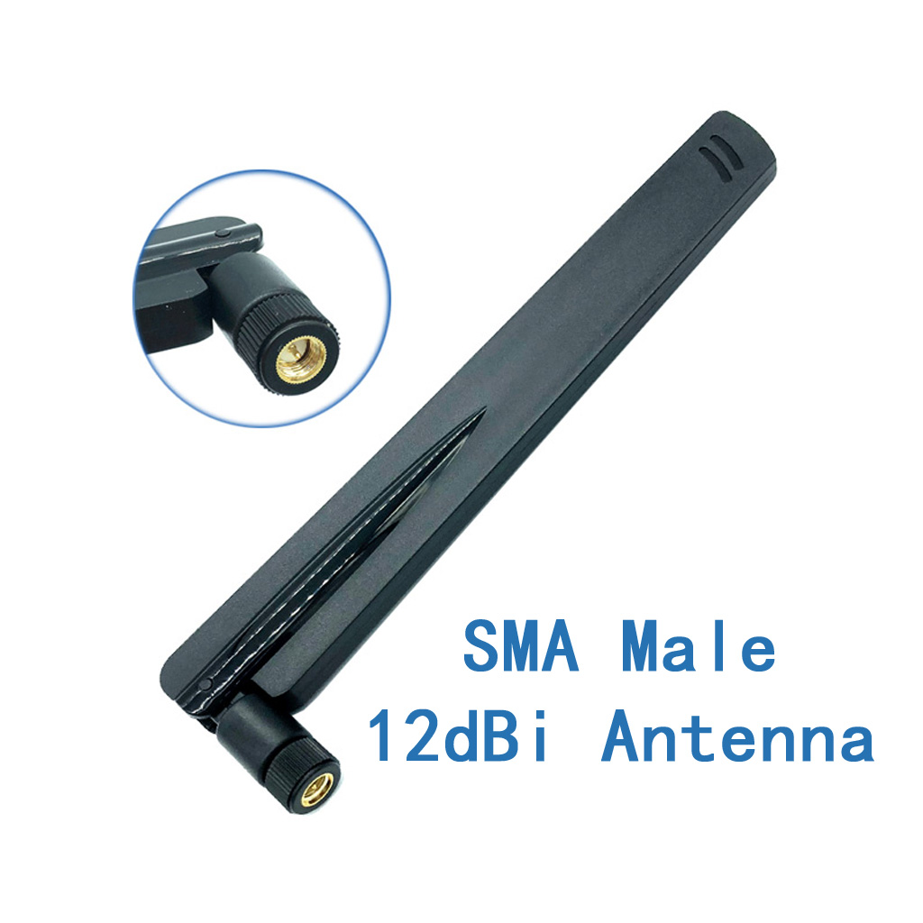 Dual Band Extender Booster 2.4GHz 5GHz WiFi 6dBi RP-SMA Antenna for Router