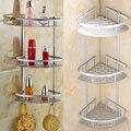 Высокое качество, 2/3 уровня, угловой держатель для хранения, полки для ванной, шампуня, душа, кухни, стеллаж для хранения, Органайзер