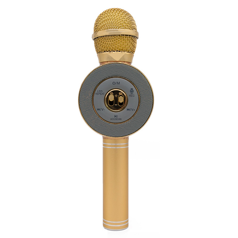 2018 Fashionable Led Light Flashing Speaker Microphone