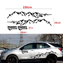 Vinyl Decal Discovery Mountain Car Styling Side Door Decor Sticker for Range Rover SUV