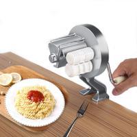 Small Home Italian Pasta Noodle Machine Manual Dough Machine Kitchen Tool Hand Shake Dessert Machine Pasta Maker