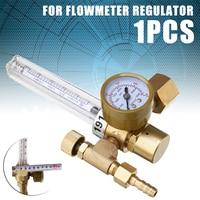 1pc Argon CO2 Mig Tig Flow Meter Gas Regulator Flowmeter Welding Weld Gauge Argon Regulator Pressure Reducer