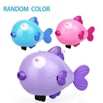 Cute Cartoon Animal Tortoise Hippocampus Classic Baby Water Toy Infant Swim Turtle Wound-up Chain Clockwork Kids Beach Bath Toys 4