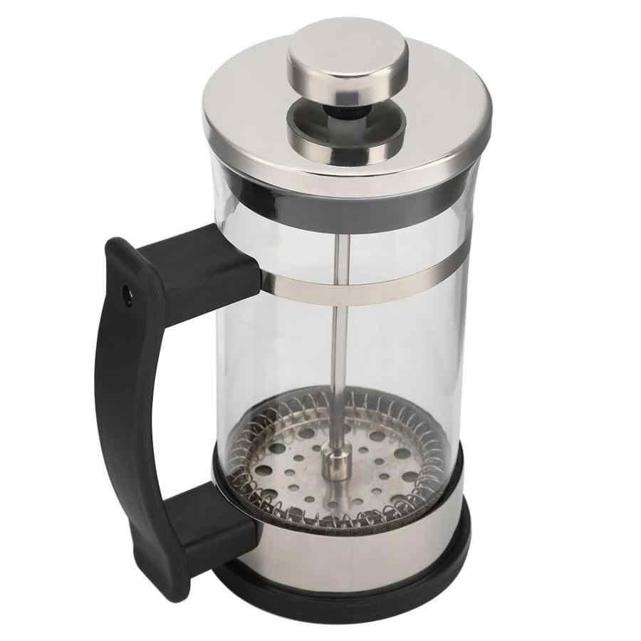 Компактный бытовой аппарат для приготовления чая и кофе из нержавеющей стали